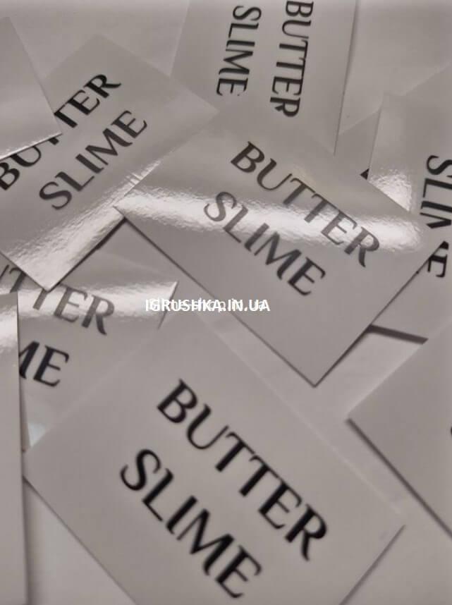 Наклейка «Butter Slime» для слайма