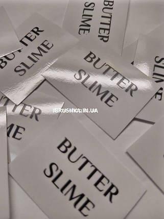 Наклейка «Butter Slime» для слайма, фото 2
