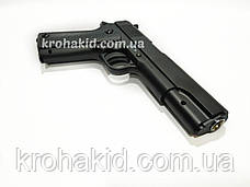 Игрушечный пистолет на пульках металлический детский CYMA ZM19 / ЗМ 19 (точная копия Colt 1911), фото 3