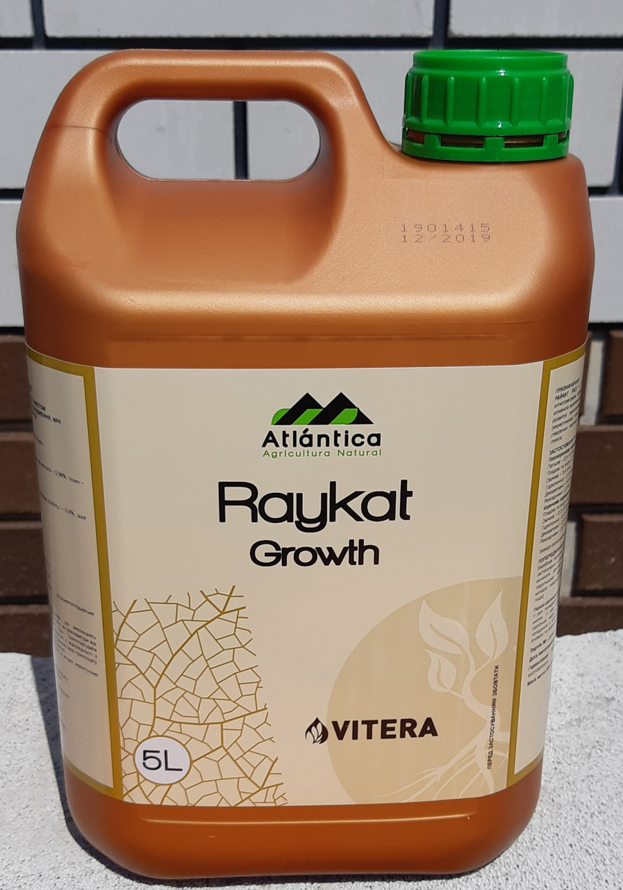 Жидкое удобрение Raykat Growth (Райкат Рост), 5 л