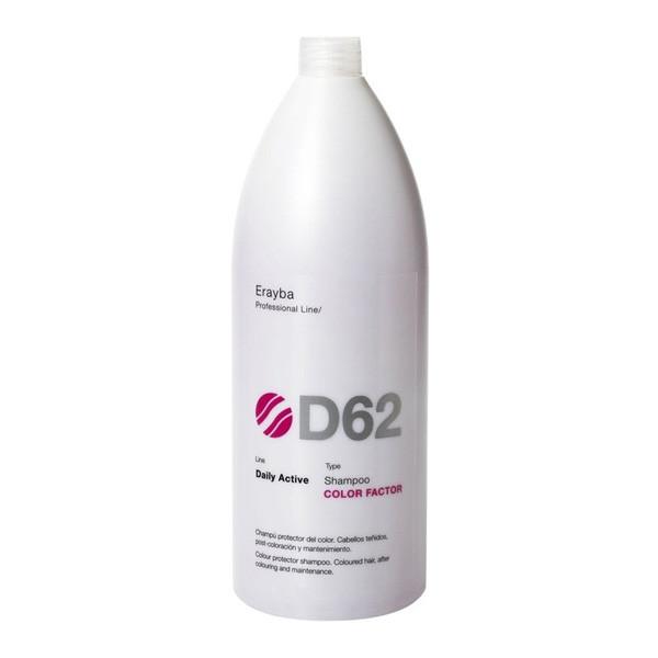 Шампунь для ухода после окрашивания Erayba Daily Active Color Factor D 62 Shampoo 1000 мл