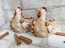 """Оригинальная статуэтка """"Курочка"""" из керамика, h-10 см., 45 грн."""