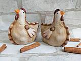 """Статуетка """"Курочка"""" з кераміки"""", великодній декор h-10 см, 45 грн, фото 3"""