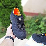 Мужские зимние кроссовки Merrell Ice Cup черные с оранжевым, фото 2