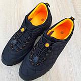 Мужские зимние кроссовки Merrell Ice Cup черные с оранжевым, фото 5