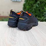 Мужские зимние кроссовки Merrell Ice Cup черные с оранжевым, фото 9