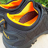 Мужские зимние кроссовки Merrell Ice Cup черные с оранжевым, фото 10