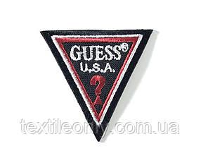 Нашивка Guess / Гесс 55х55 мм