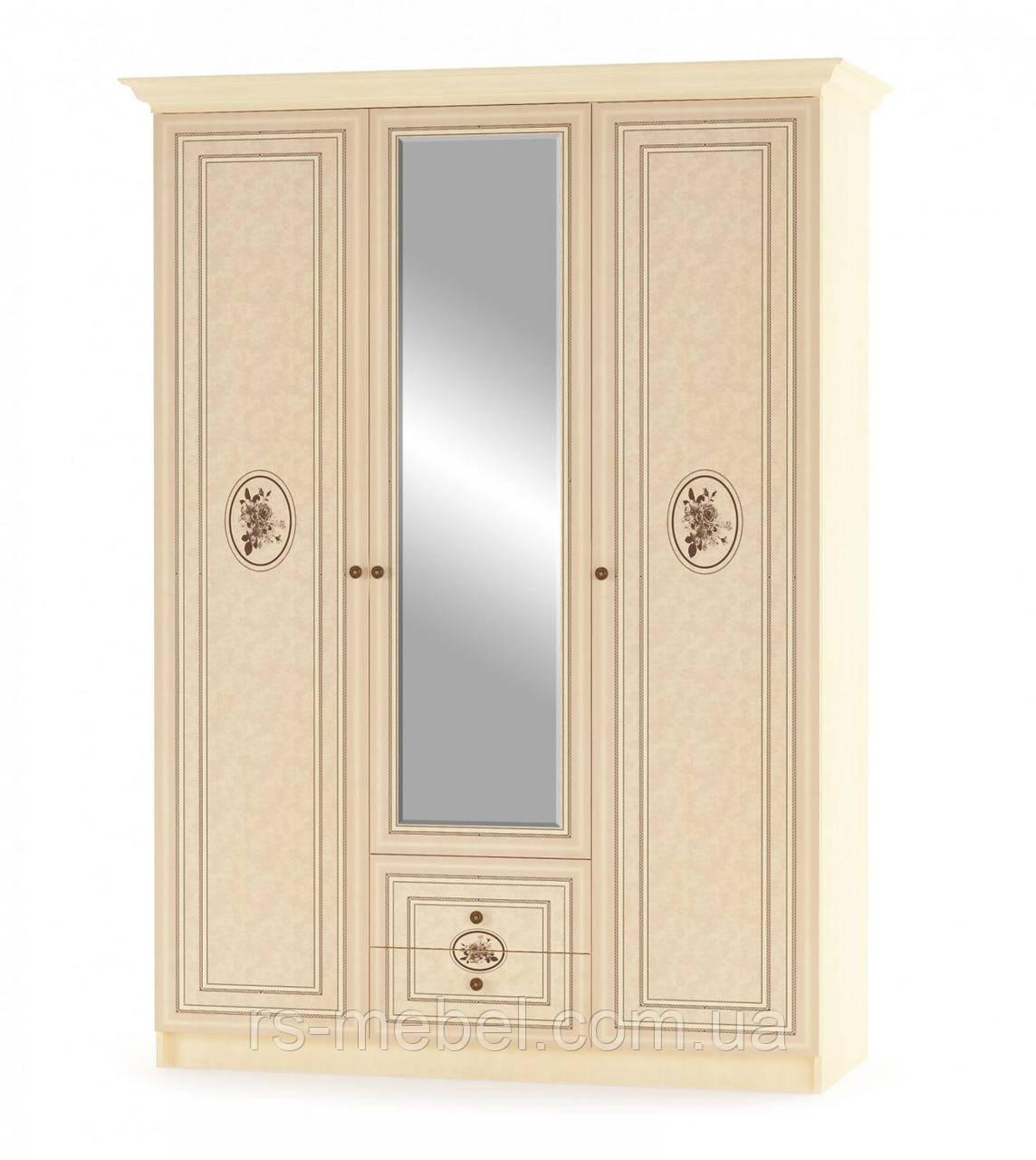 """Шкаф 3Д  """"Флорис"""" (Мебель-Сервис)"""