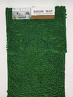 Набор ковриков в ванную комнату из микрофибры лапша ''ROOM MAT'' зеленый  60х90см. и туалет 40х60см.