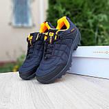 Чоловічі зимові кросівки Merrell Ice Cap Moc чорні з помаранчевим, фото 4