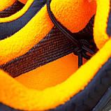 Чоловічі зимові кросівки Merrell Ice Cap Moc чорні з помаранчевим, фото 10