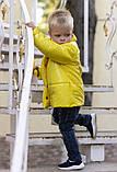 Демисезонная куртка детская плащевка+силикон 150 размер: 98, 104, 110, 116, 122, фото 4