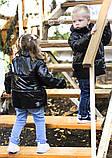Демисезонная куртка детская плащевка+силикон 150 размер: 98, 104, 110, 116, 122, фото 7