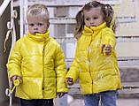Демисезонная куртка детская плащевка+силикон 150 размер: 98, 104, 110, 116, 122, фото 8