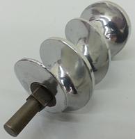Шнек алюминиевый ø53мм / L-140мм для мясорубки Sirman TC-12E, фото 2
