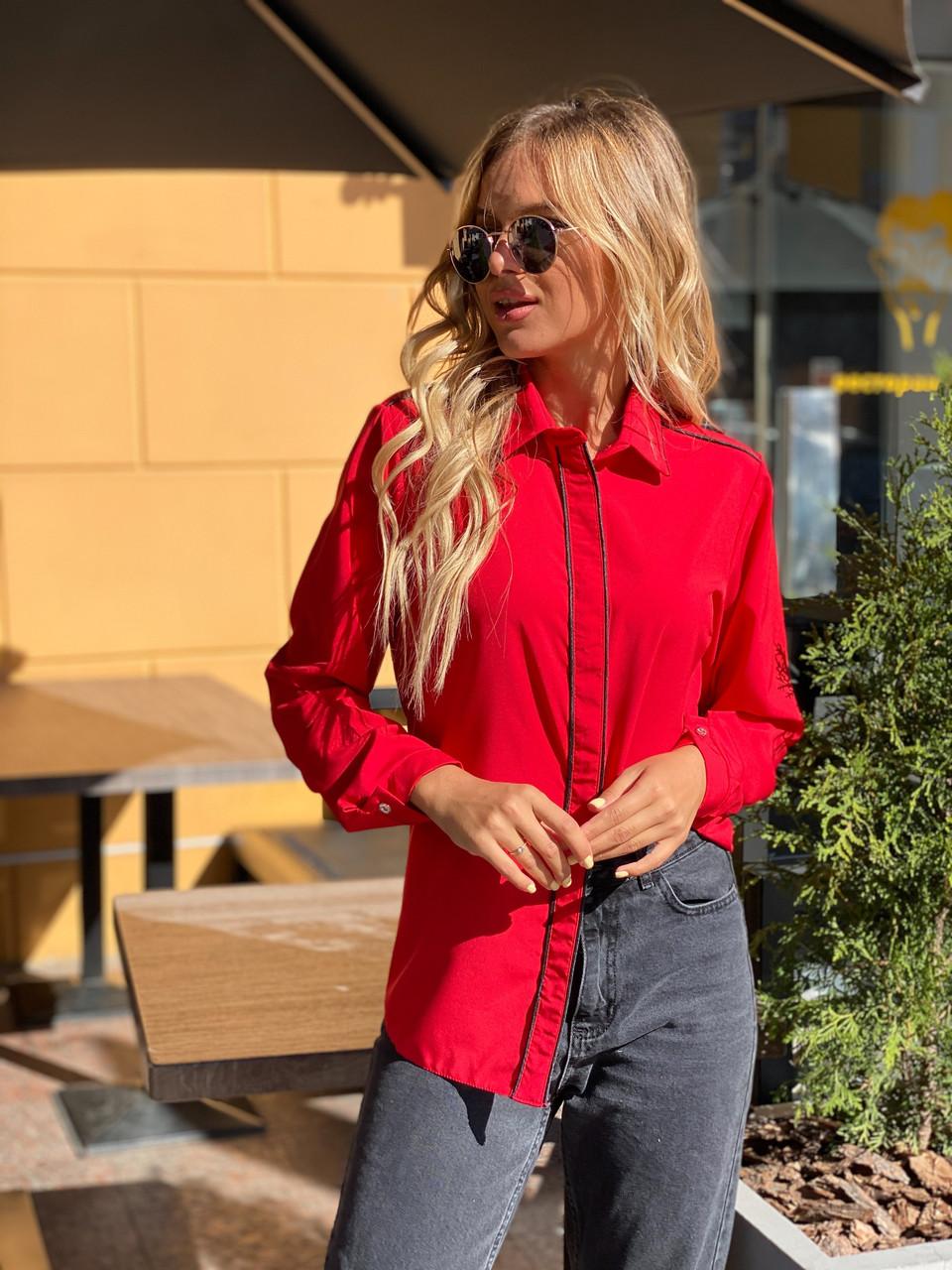 Великолепная блузка с длинным рукавом