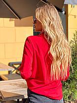 Великолепная блузка с длинным рукавом, фото 3