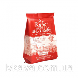 Кофе молотый Кава зі Львова Еспресо, 75 г, фото 2