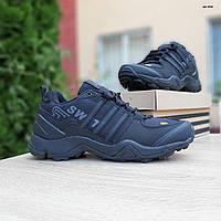 Мужские зимние кроссовки в стиле Adidas Terrex Swift 465 черные