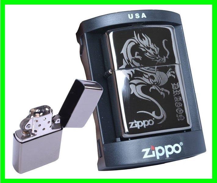 Зажигалка ZIPPO Бензиновая (Dragon - Гравировка)