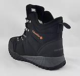 Ботинки Colamb!a ЗИМА-МЕХ Мужские Коламбиа Чёрные Кроссовки (размеры: 43) Видео Обзор, фото 3