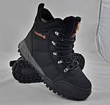 Ботинки Colamb!a ЗИМА-МЕХ Мужские Коламбиа Чёрные Кроссовки (размеры: 43) Видео Обзор, фото 6