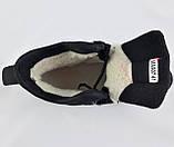 Ботинки Colamb!a ЗИМА-МЕХ Мужские Коламбиа Чёрные Кроссовки (размеры: 43) Видео Обзор, фото 7