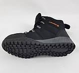 Ботинки Colamb!a ЗИМА-МЕХ Мужские Коламбиа Чёрные Кроссовки (размеры: 43) Видео Обзор, фото 8