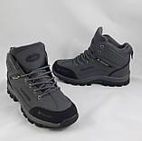 Ботинки Colamb!a ЗИМА-МЕХ Мужские Коламбиа Серые (размеры: 41) Видео Обзор, фото 2