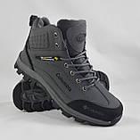 Ботинки Colamb!a ЗИМА-МЕХ Мужские Коламбиа Серые (размеры: 41) Видео Обзор, фото 4
