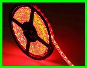 LED Стрічки (3528) Red - Червоний довжина 5м Лід (Відеоогляд)