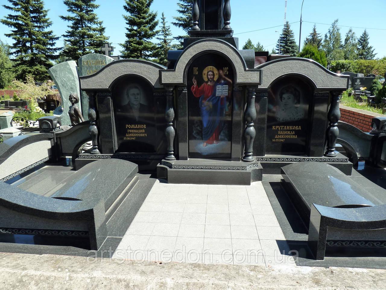 Элитное надгробие для двух человек