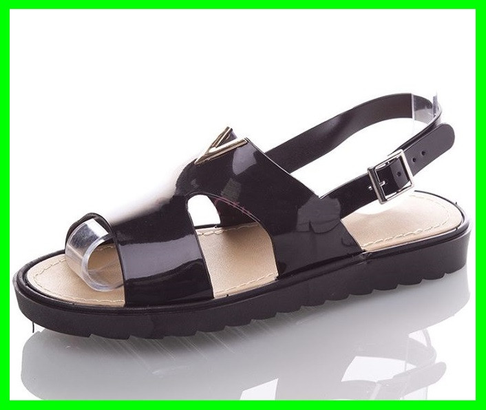 Женские Сандалии Босоножки Чёрные Летняя Обувь (размеры: 37)