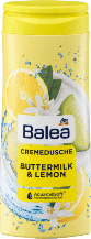 Гель для душа BALEA Dusche+CremeButtermilk&Lemon