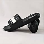 Шлёпанцы Тапочки TOMMY Jeans Сланцы Чёрные Мужские (размеры: 41,42,43,44,45,46), фото 3