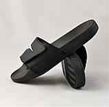 Мужские Шлёпанцы Тапочки Reeboc Сланцы Суприм Чёрные (размеры: 40,42,43,44), фото 3