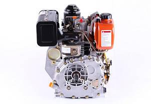Двигатель 178F  (под шпонку Ø25 мм) (6 л.с.), фото 3