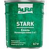 Эмаль антикоррозионная Aura Stark 3 в 1 цвет  Темно-серый № 18 2 кг