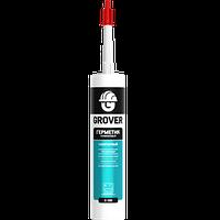 Герметик силиконовый санитарный GROVER S100 белый 300 мл