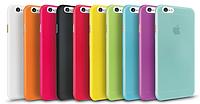 Черный пластиковый чехол 0,15 мм для Iphone 6 6S, фото 1