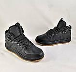 Кроссовки AIR Мужские ЗИМА - МЕХ Чёрные Ботинки (размеры: 42,45) Видео Обзор, фото 3