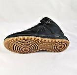 Кроссовки AIR Мужские ЗИМА - МЕХ Чёрные Ботинки (размеры: 42,45) Видео Обзор, фото 7