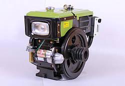 Двигатель SH180NDL Zubr 8 л.с. с электростартером