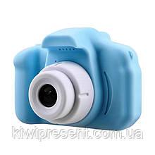 """Цифровой детский фотоаппарат / видеокамера  """"X200 children camera"""" поддерживает карту памяти, дисплей 2 дюйма"""