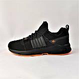 Кроссовки Мужские Adidas Черные Адидас (размеры: 42,43,44,45) Видео Обзор, фото 6
