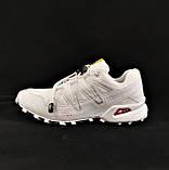 Кроссовки Salomon Speedcross 3 Белые Мужские Саломон (размеры: 41,42,43,44,45) Видео Обзор, фото 3