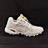 Кроссовки Salomon Speedcross 3 Белые Мужские Саломон (размеры: 41,42,43,44,45) Видео Обзор, фото 5