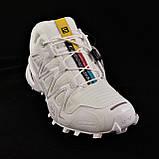 Кроссовки Salomon Speedcross 3 Белые Мужские Саломон (размеры: 41,42,43,44,45) Видео Обзор, фото 6