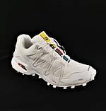 Кроссовки Salomon Speedcross 3 Белые Мужские Саломон (размеры: 41,42,43,44,45) Видео Обзор, фото 7
